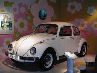 La Coccinelle d'Abbey Road dans la légende des Beatles.